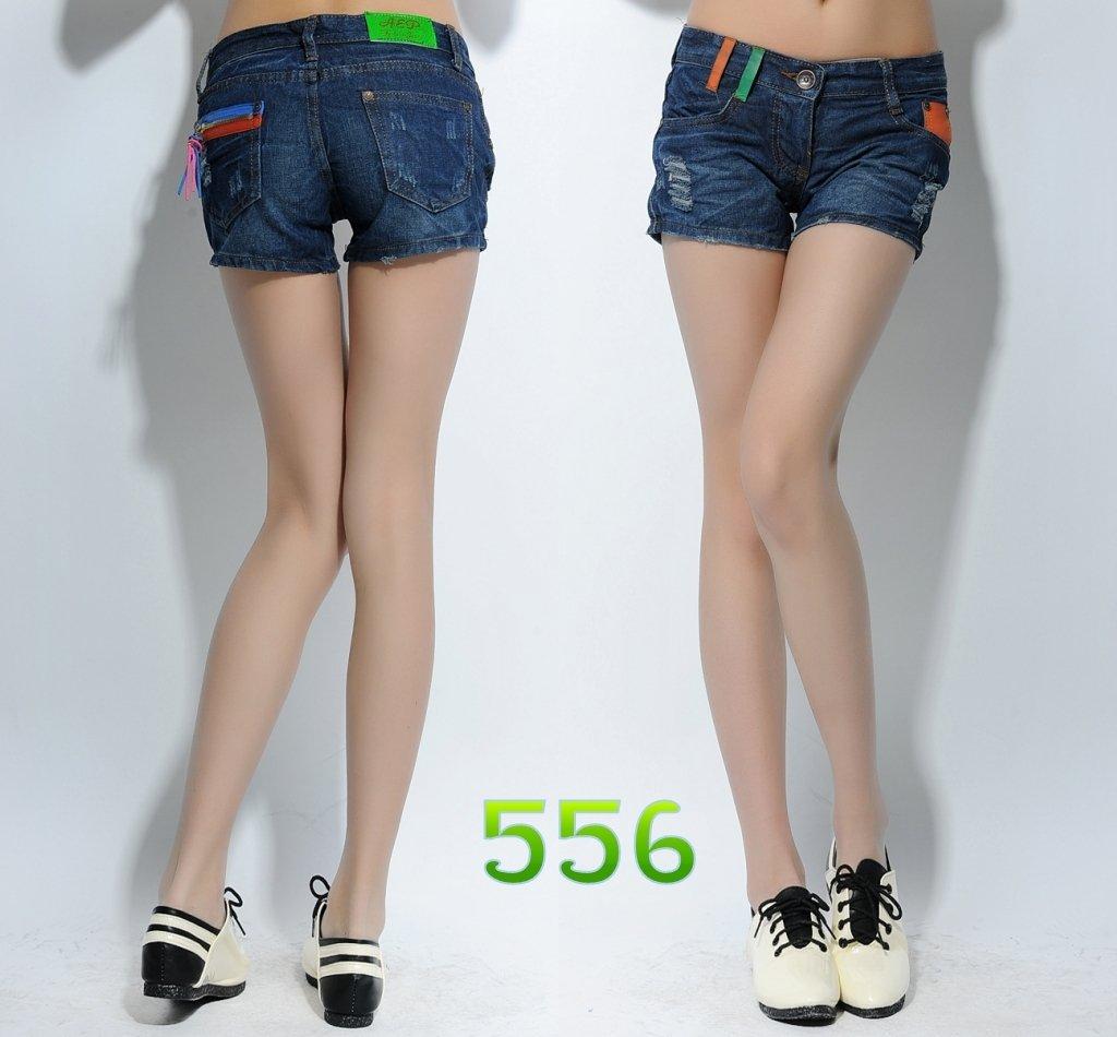 plus size slim white vintage hole elastic capris casual tights women ...