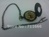 Restore ancient ways pocket watch, mechanical movement, Rome digital display of carve patterns or designs on woodwork