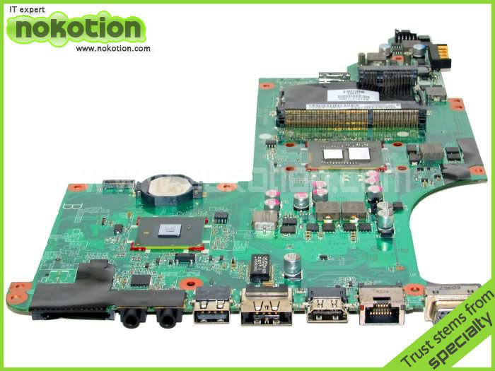 Материнская плата для ПК Original hp dv6/3000 I3 /370m P/N: 637212/001 INTEL HM55 GMA HD DDR3 DV6-3000 series sheli laptop motherboard for hp dv6 6000 659149 001 hm65 pga989 ddr3 hd6490 1g non integrated graphics card