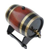 free shipping 15L wooden Oak Wine Aging wood Barrel Rum Cask Beer Keg