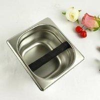 1pc Espresso coffee knock box,stainless steel knock box