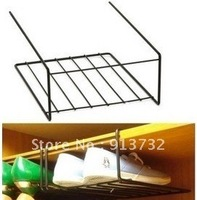 free shipping The metal hanging shoe rack finishing wrought iron desk pylons shoes storage rack shoe Shelves B23