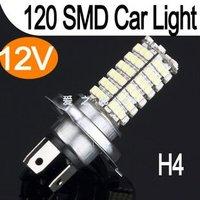 120 SMD 3528 LED anti-fog bulb H4 super bright 12W car LED front fog lamps