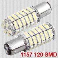 1157 P21/5W ultra bright 850 lumens 120 3528 LED car brake light fog turned to a light bulb