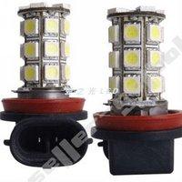 H11 super bright car fog lights \ 27 three core 5050SMD \ LED front and rear fog light bulb