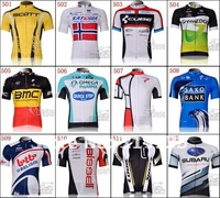 2012  team short sleeve cycling jersey bicycle clothing/cycling wear only jersey