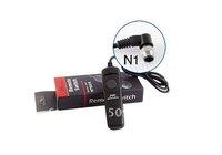 Mini JYC SR-N1 5PCS Remote Switch Control Shutter Release Cable for Nikon D800 D800E D700 D3 D4 D2 D300Free shipping
