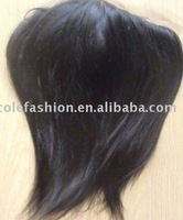 frontal lace 13''x3'' Indian remy hair natural straight black color