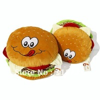 free shipping Simulation hamburger plush toy Sofa/bed/seat cushion toy Pillow nice gift small size