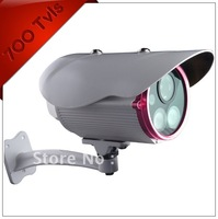 Free Shipping IR Security Camera 50m IR Range With 2 Array LED