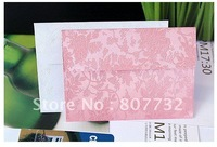 17.5*12.5cm 120g High Quality Invitation Envelope, Bright Pink and White. Lovely Flower, Unbelievable Pretty and Nice Hand Touch