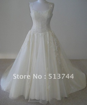 Gorgeous Beaded Embroidery See Layout   Wedding Dresses  Custom Any Color/Size