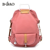 2012 double-shoulder school bag one shoulder cross-body women&#39;s handbag backpack laptop bag 03