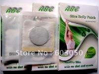 Healthy slimming ABC Detox Foot Patch slim belly patches pad pads ABC Slim Belly Patch 3000pcs