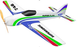 New! Lanyu TW-746 F3A EPS Electric ARTF almost ready to fly RC Airplane Model aircraft hobby(China (Mainland))