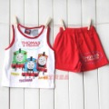 wholesale THOMAS babys boys summer clothing set 2 pieces set, cartoon friends tank tops +shorts pants, kids children causal suit
