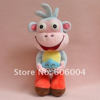 "Free Shipping LOVELY Dora the Explorer BOOTS The Monkey 11"" Soft Plush Toy Doll Wholesale And Retail"