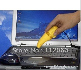 Hot sale wholesale 10 pieces/lot mini usb keyboard computer vacuum cleaner /dust collector/dust catcher