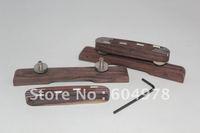 Rosewood Compensated Mandolin Bridge AdJustable Guitar parts New