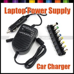 80W Universal Car Charger Plug DC Power Adapter Power Supply for Laptop Notebook PC computer(Hong Kong)