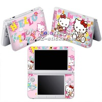 skin stickers for 3DSXL 100% OEM,each MOQ is 10PCS,total is 100PCS