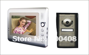 Luxury Cast Iron Camera Video Door Phone IP Take Phote Fuction V7C-P, Office Intercom System