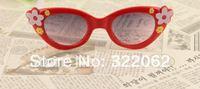 Free shipping wholesale 24 pieces/lot kids/ plastic children sunglasses/ kid's eyewear
