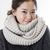 Min. order US$10 winter thickening solid scarf winter wool yarn muffler scarf thermal big muffler scarf yarn Lovers Ring