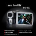 "2012 new !! Digital Video Camera 3.0"" LCD Digital 4X Zoom 12 MP Camcorder DV, Handle DV"