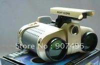 Best selling!!!New 4 X 30mm Surveillance Scope Night Vision Binoculars Free shipping 1pcs