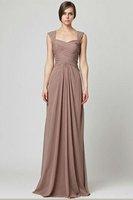 Free Shipping 2014 Hot Sale Elegant Floor-Length Evening Prom party Chiffon Evening /Prom Dresses