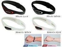 Titan ball Bracelet Titan Silica Rakuwa Bracelet S Cross Type Health Silicone Bracelets Energy  Wristband Micro 100pcs/lot