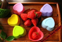 DIY Free Shipping Wholesale Silicone Cake Cupcake Mold /Silicone handmade tool soap mold /baking mould bakeware
