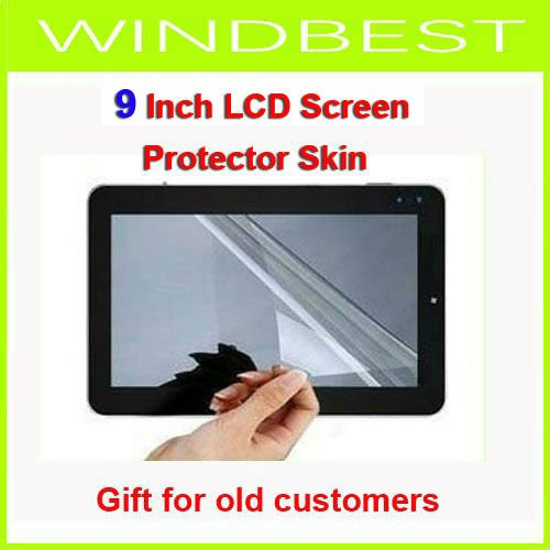 Gift for old customers Freeshipping Screen Protector film Skin for 9 inch LCD ipad MID Tablet PC Apad Notebook dropshipping(China (Mainland))