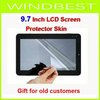 Freeshipping dropshipping (Full) Screen Protector Skin for 9.7 inch LCD  ipad MID Tablet PC Apad Notebook Gift for old customers
