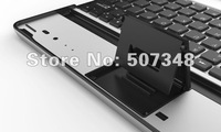 Free shipping aluminum wireless  bluetooth keyboard for ipad3 ipad 3