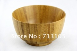 Free shipping!Hotsale Phyllostachys pubescens bowl natural bamboo bowl,5pcs/lot(China (Mainland))