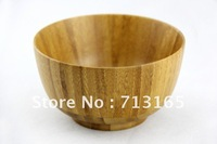 Free shipping!Hotsale Phyllostachys pubescens bowl natural bamboo bowl,5pcs/lot