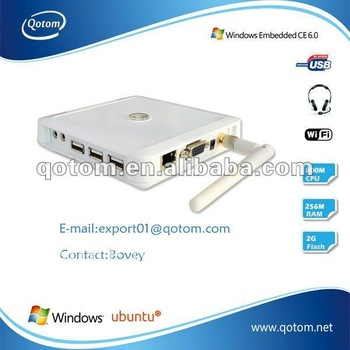 Desktop computer,cloud terminal of 2012,new thin client,pc station,QOTOM-C30SW