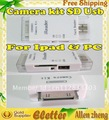 Reader USB Camera Connection Kit SD Card Reader for Pad/Pad 2 50pcs/lot DHL free shipping