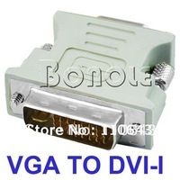 Holiday Sale! DVI to VGA Cable,DVI DVI-I (M) To VGA (F) Video Converter/Adapter  1024