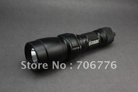 YEZL  Q1 250LM 5-Mode CREE Q27B Yellow Light Dive Flashlight(1 x 18650 Battery)