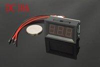 "DC 0-9.99A  0.36"" Blue LED Digital Ammeter 10A AMP Pannel meter Power by 4.5-28VDC"