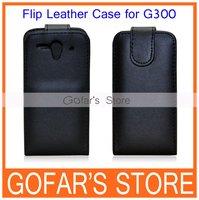 Flip Vertical PU Leather Case For Huawei Ascend G300 U8818,High Quality,50pcs/lot