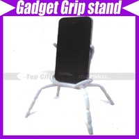 (10pcs/lot)Multi-purpose stand Flexible Gadget Grip Dock for cellphone, ipod, camera, mp3 #3511
