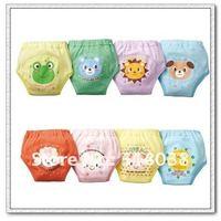 4 layers Baby training pants/Baby waterproof cotton training pants/Animal style training pants