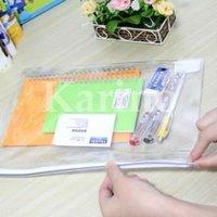 Free Shipping Wholesale PVC File Document Pocket Bag, Information Pack, Briefbag, Presentation Folder