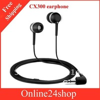Free shipping ,new arrival in-ear headphone for CX300 in ear headphone/earphone hotsale