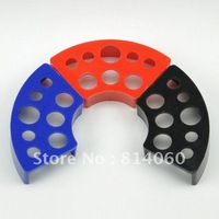 3pcs Red blue black pigment cup bracket combination / pigment cup trailer / tattoo accessories --- free shipping