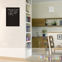 NEW ARRIVAL, FREE SHIPPING, 33CM*48CM/piece chalkboard calendar wall sticker, vinyl wall decal